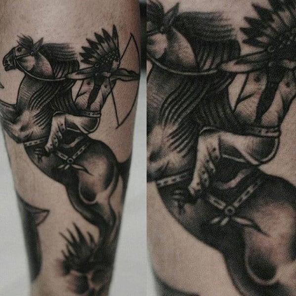Mens Cool Traditional Horse Tattoo Ideas