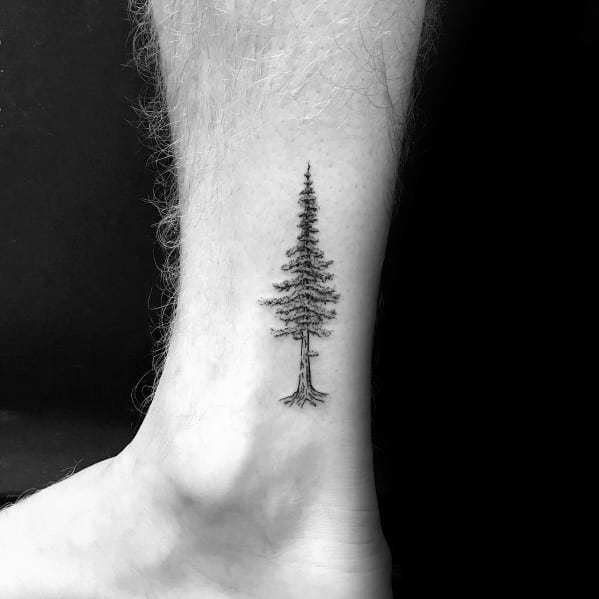 Mens Cool Tree Tattoo Designs