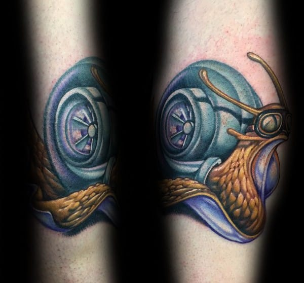 Mens Cool Turbo Tattoos