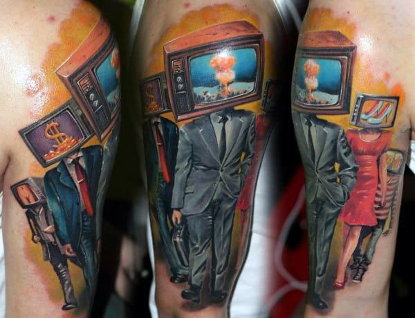Mens Cool Tv Tattoos