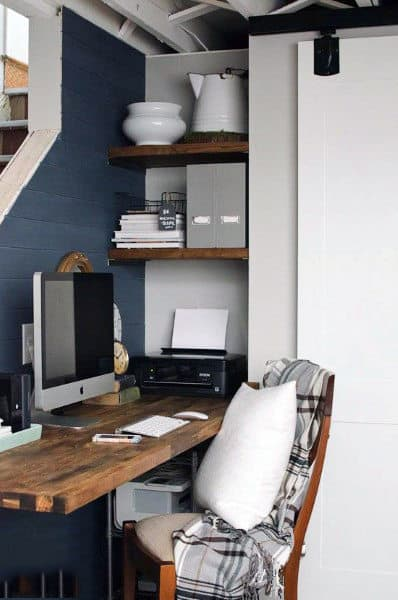 Mens Corner Small Home Office Ideas