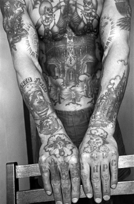 Forearms Men's Cross Tattoo