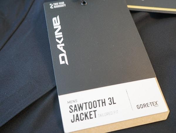 Mens Dakine Sawtooth 3l Jacket Tag