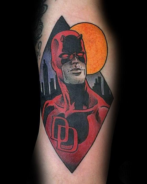50 Daredevil Tattoo De...