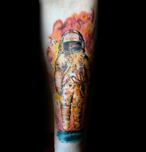 Mens Deja Entendu Tattoo Ideas