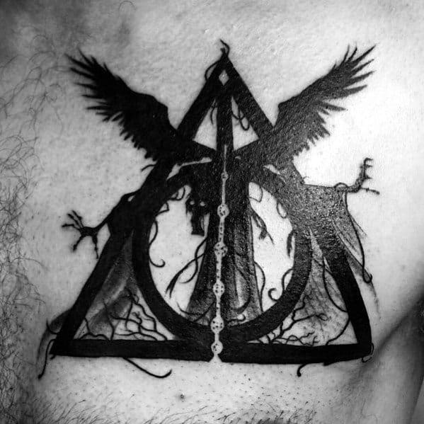 Mens Dementor Tattoo Ideas