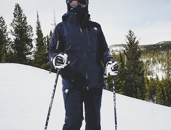 Mens Descente Octane 3l Shell Field Tested On Ski Slopes