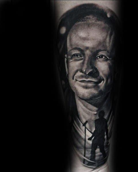 Mens Designs Linkin Park Tattoo