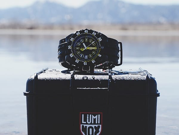 Mens Diving Watches Luminox Scott Cassell Deep Dive Special Edition 1526 Field Test