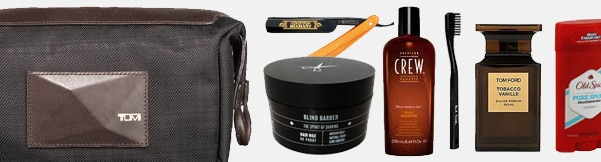 How To Pack The Ultimate Men's Dopp Kit