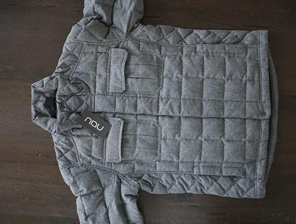 Mens Down Winter Jackets Nau Utility Wool Front