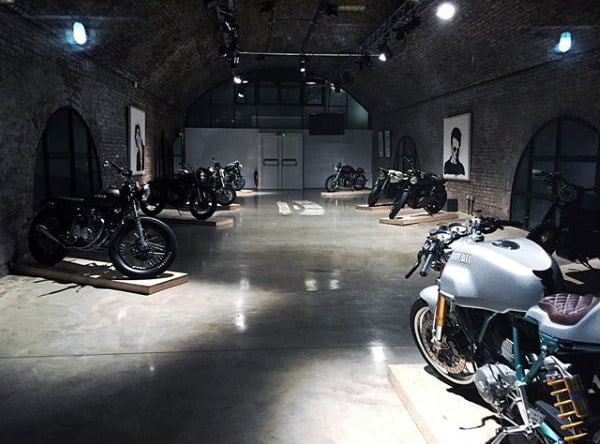 Mens Dream Motorcycle Garage Ideas
