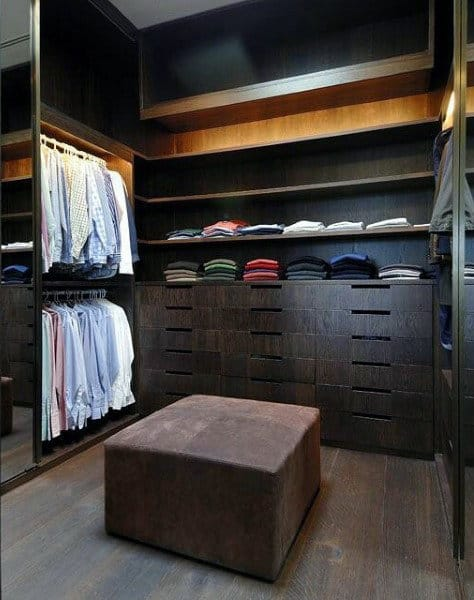 Mens Dressing Room Closet Design