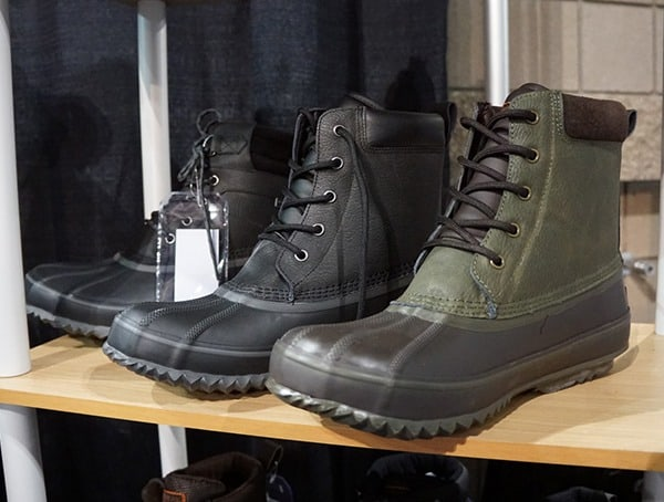 Mens Duck Boots Black And Green
