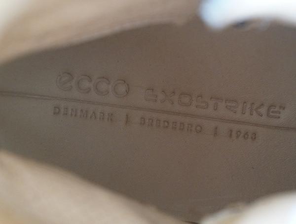 Mens Ecco Exostrike Boots Insole