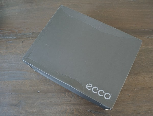 Mens Ecco Exostrike Boots Shoe Box