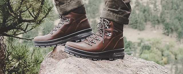 6e790e7cfaa3 Mens Ecco Rugged Track Gtx Hi Boots Review - Gore-Tex Hiking Footwear
