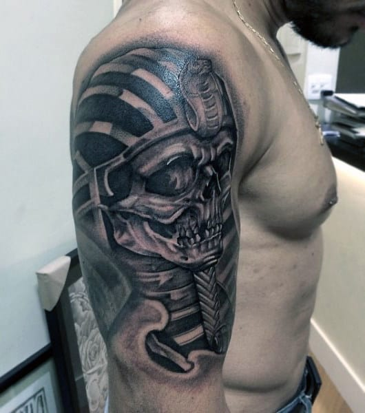 Men's Egyptian Tattoos On Arm