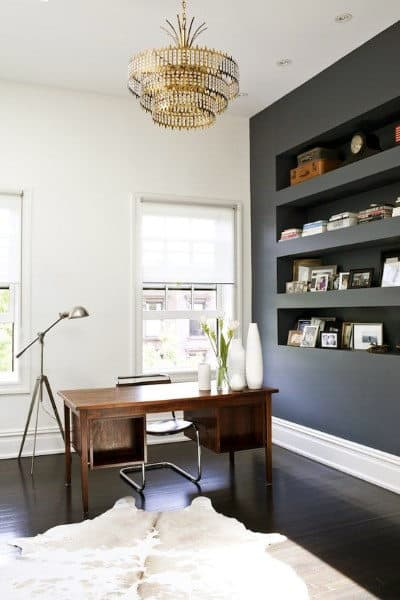 Mens Elegant Small Home Office Ideas