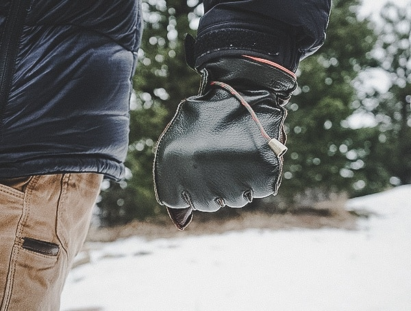 Mens Elk Leather Hestra Granvik Gloves Review