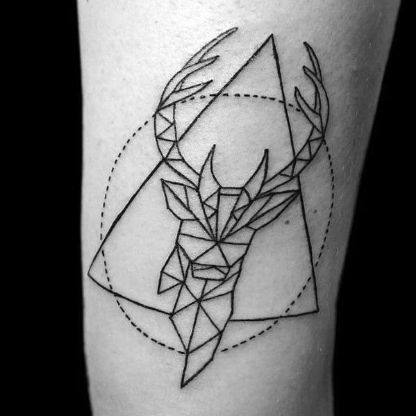 Mens Elk Tattoos