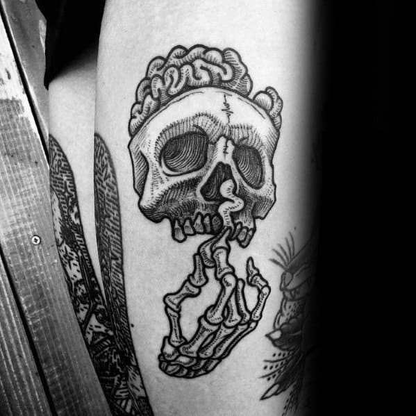 Mens Esoteric Tattoo Design Inspiration