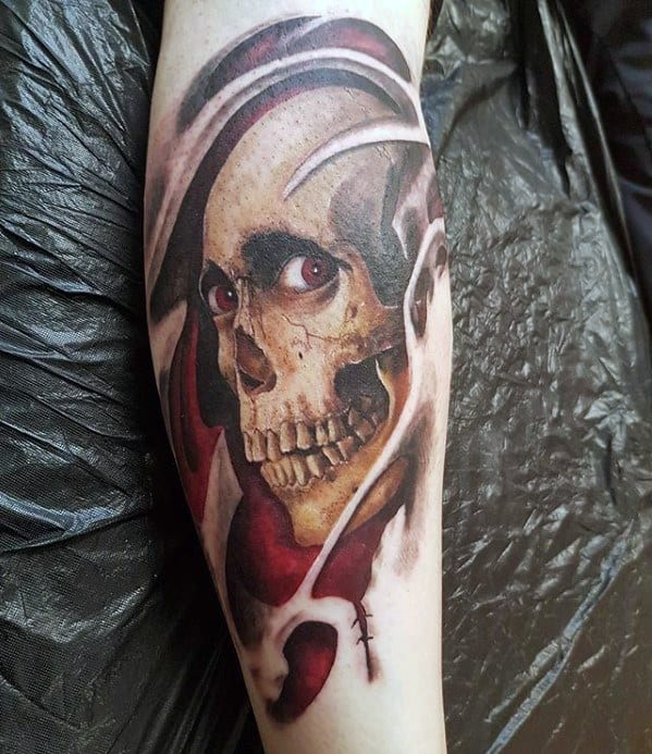 Mens Evil Dead Tattoo Ideas