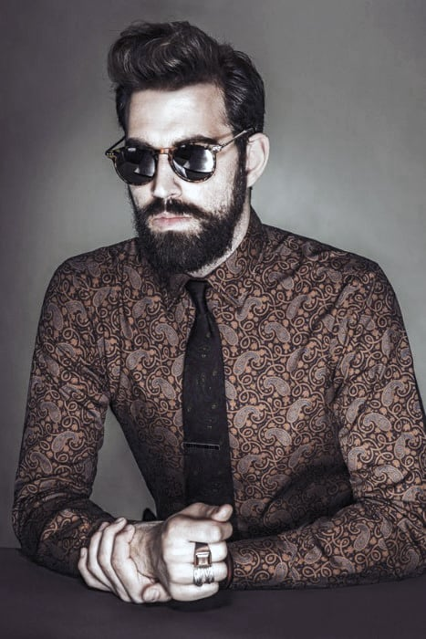Mens Fashion Awesome Beard Styles