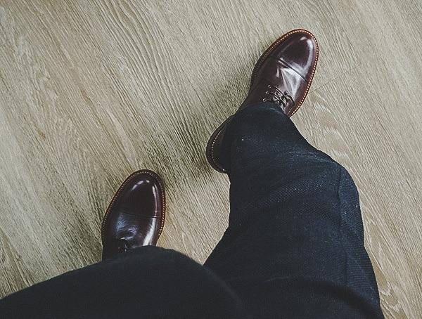 Mens Fashion Beckett Simonon Dowler Cap Toe Boots