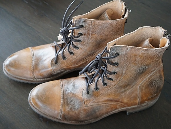 Mens Fashion Bed Stu Protege Boots In Tan Rustic Mason Bfs