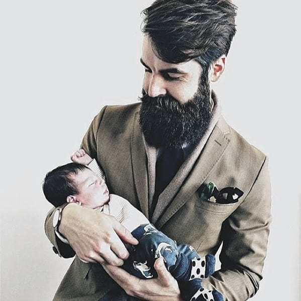Mens Fashion Big Beard Styles
