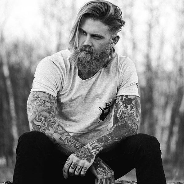 Mens Fashion Cool Beard Styles