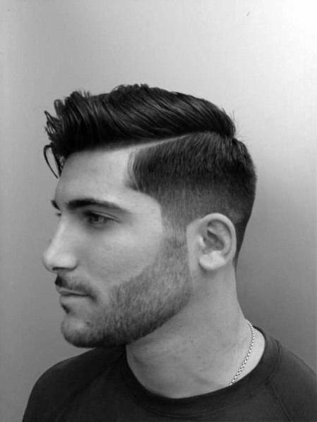 Men's Fashion Haircut Parted