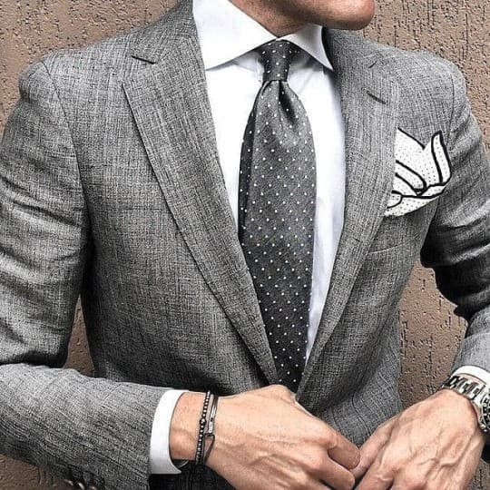 Mens Fashion Inspiration Grey Suit Styles