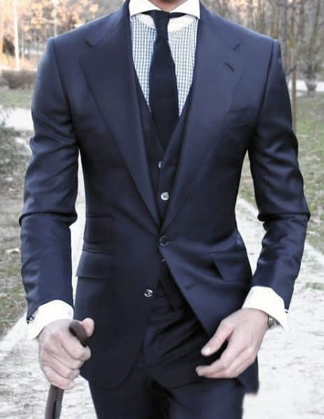 Mens Fashion Inspiration Navy Blue Suit Styles
