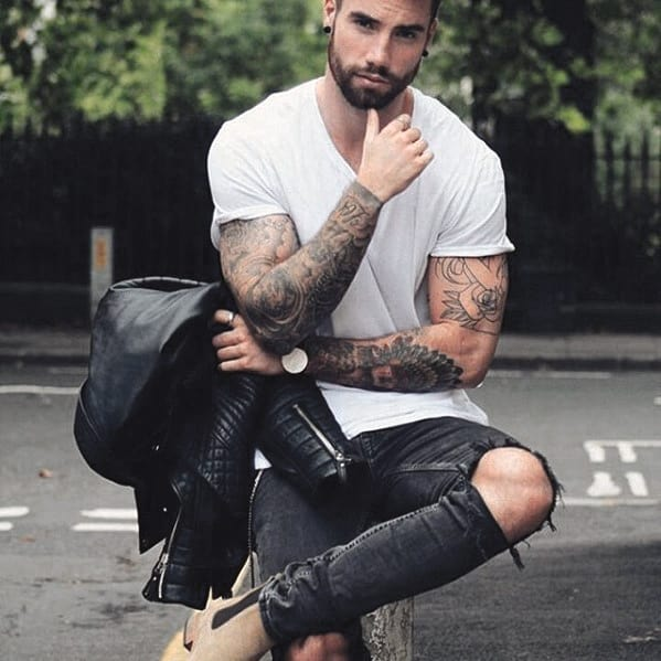 Mens Fashion Nice Beard Styles
