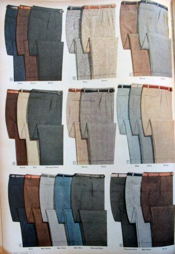 Mens Fashion Pants And Trousers Shopping Catalog