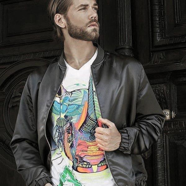 Mens Fashion Short Beard Styles