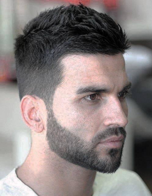 Mens Fashion Short Hair And Beard Stubble Styles