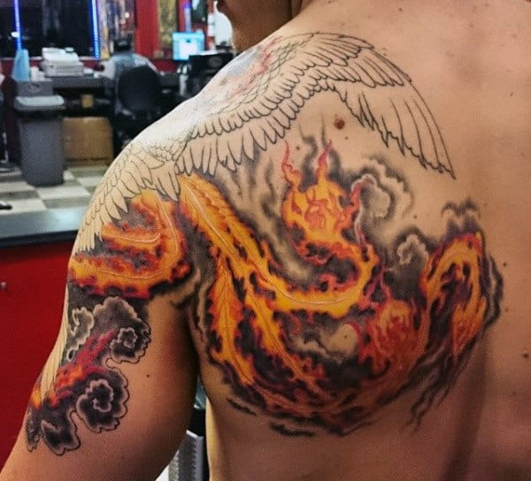 a7c3807ea Top 60 Best Flame Tattoos For Men - Inferno Of Designs