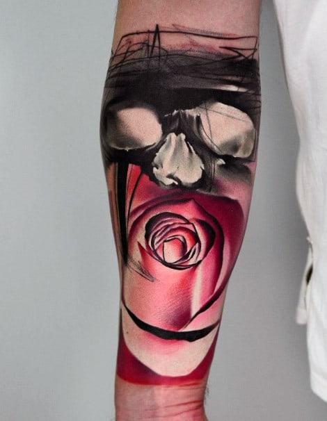 Men's Flower Tattoo Ideas