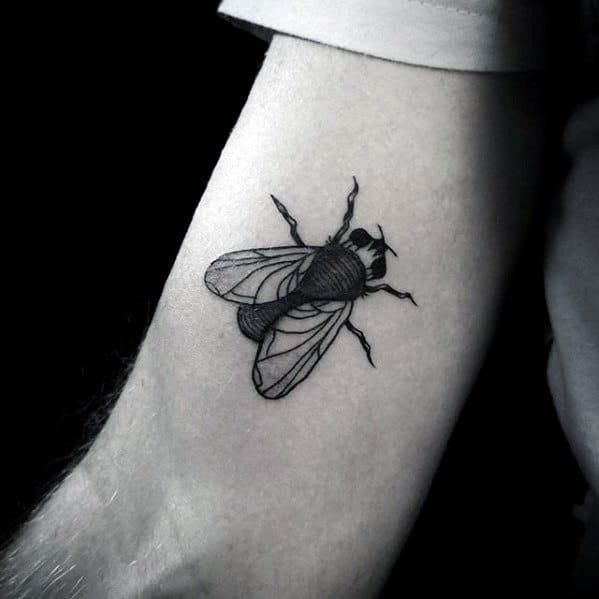 Mens Fly Tattoo Design Ideas