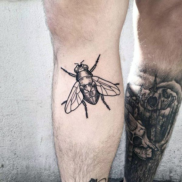 Mens Fly Tattoo Ideas