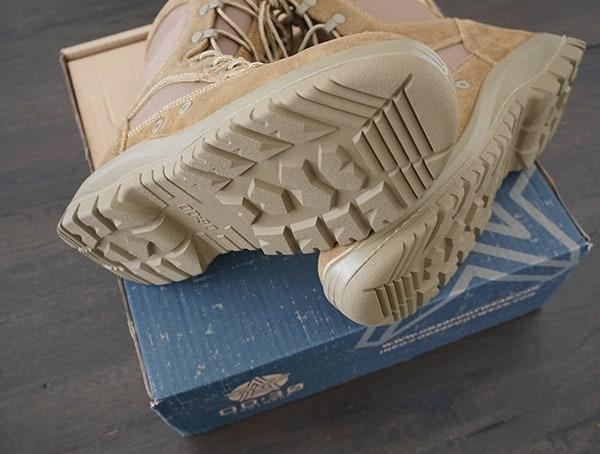 Mens Footwear Od 30 A3 Combat Boot In Coyote Brown