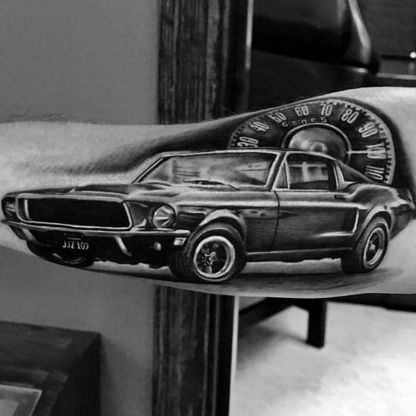 Mens Ford Tattoo Designs