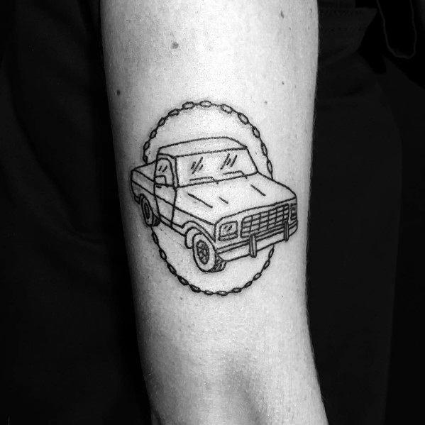 Mens Ford Tattoos