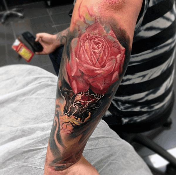 Top 47 Flower Tattoos For Guys 2020 Inspiration Guide