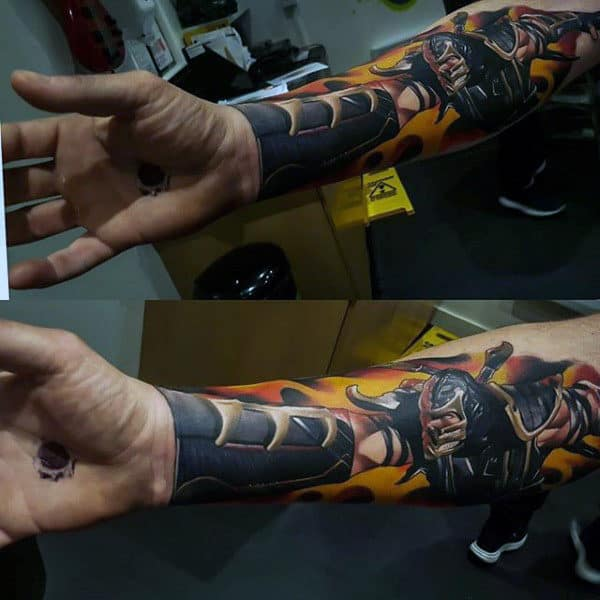 Mens Forearm Gorgeous Manly Tattoo Designs