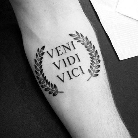 Arm männer sprüche tattoo ▷ 1001+