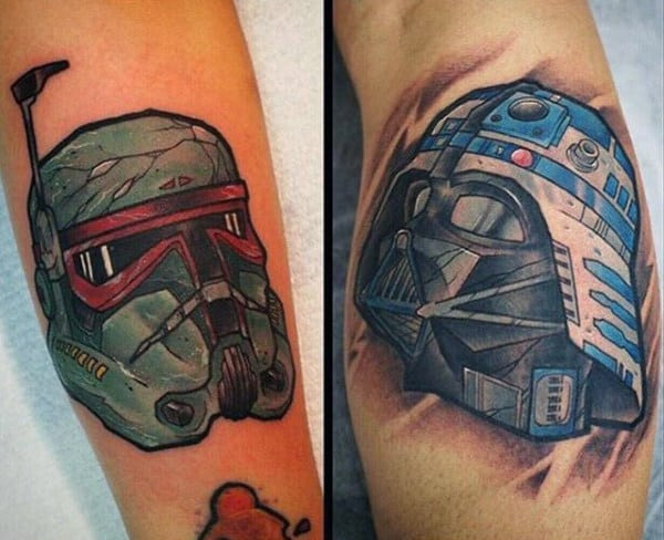 100 star wars tattoos for men masculine ink design ideas for Mens star tattoo